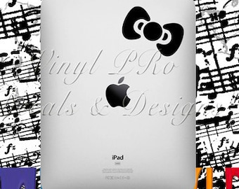 Hair Bow Fashion Style Design Accessories Decal for Apple ipad