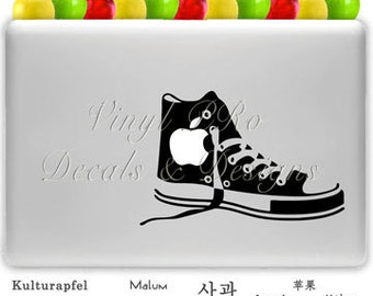 Shoe Sneaker Kicks Style Decal for Macbook