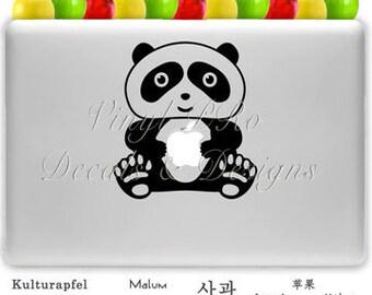 Zoo Panda Animal Lover Decal For Apple Macbook