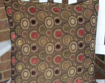 Handmade 16 x 16 Throw Pillow Cover, Upholstery