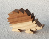 Wooden Toy Animal - Hedgehog
