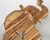 Christmas XL Wooden Toy Animal - Elephant