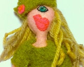 Bimbo Pikaloo Doll - Limited Edition - Handmade - Felt