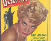 VITAL DETECTIVE CASES 1 May 1953 True Crime Pulp Magazine