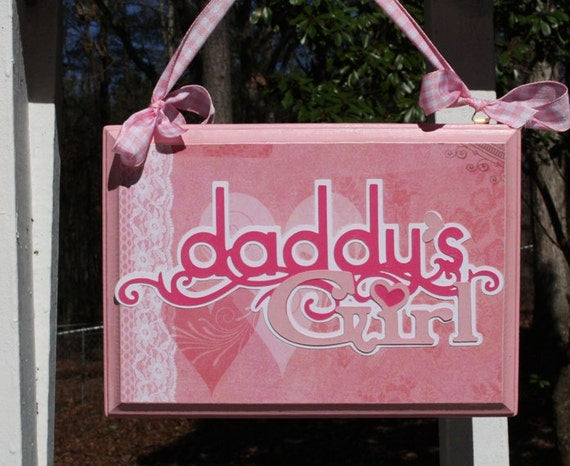 Daddy's Girl wall plaque