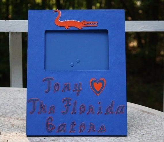 Florida Gators special order picture frame