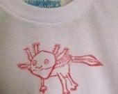 axolotl adult's Tshirt