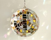 Sparkly Gold Glitter Ball // Peace and Love Home Decor // Feng Shui Ball