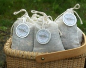 CUSTOM FOR MICHELLE    Moth Away Sachets and Lavender Sachets Filled with Natural and Organic Herbs and Spices-Favors-Gifts-Home Care