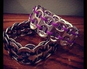 Pull Tab Bracelet- Purple Bangle