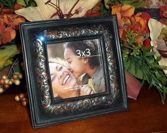 Swarovski Crystal Embellished Frame with scroll details