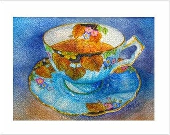 Lord Aynsley Teacup Note Cards, Pack of 6 Blank Cards