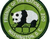 National Zoo Washington DC Iron On Travel Souvenir Applique Patch
