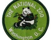 The National Zoo Washington DC Iron On Travel Souvenir Applique Patch