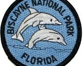 Florida Biscayne National Park Iron On Travel Souvenir Applique Patch