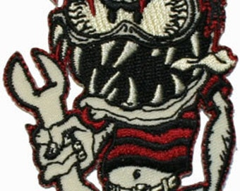 Artist Kruse Wrench Fink Embroidered Iron On Applique Patch FD