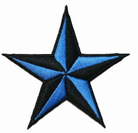Unavailable listing on etsy for Blue star tattoo