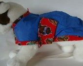 "Reversible dog coat - 11"""