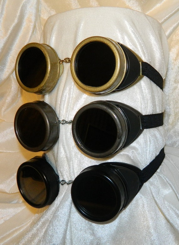 Gothic STEAMPUNK Vintage Style WELDING GOGGLES. Welding Glasses