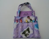 Princess and the Frog Children's Crayon Bag and Customized Paper