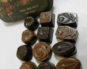 Sweet Flowers - dark chocolate and milk-high quality, refined taste--mixed pack---