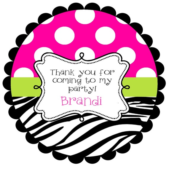 Round  Labels Stickers for   party favors, gift tags, or address labels,   - ANY COLORS