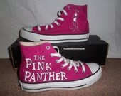 Pink Panther Converse All Stars