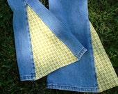 Retro Girls Bell Bottom Arizona Jeans sz 6