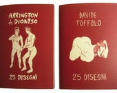 25 Disegni- EROTIC ART BOOK printed in Italy - Arrington de Dionyso & Davide Toffolo
