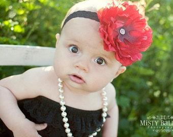Big flower headband for toddler girl..newborn..