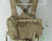 vintage canvas military back pack