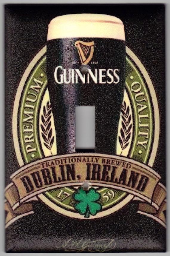 Guinness Irish Beer Brewed In Dublin Ireland St