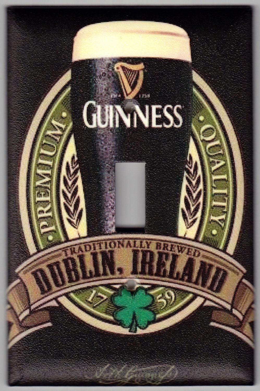 guinness irish beer brewed in dublin ireland st