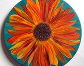 "18"" Sunflower Lazy Susan"