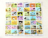 30% SALE Happy & Nurri Grim Sticker -  2 sheets /1set