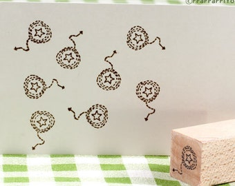 pattern star arrow Rubber Stamp