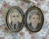 Cameo Locket for anniversaries