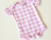 Onesie Baby Infant Handmade Boutique Clothing Children Clothing  Clothing Baby Shower Children in Size 3M-6M