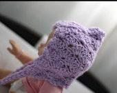 Lavender Pixie Bonnet - Newborn