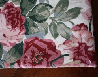 Vintage ROSES Decorator FABRIC