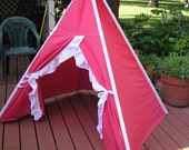 Frilly Girl Teepee Tent