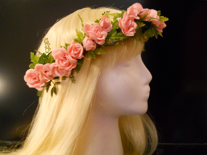 Head Wreath Flower Girl Flower Crown Head Wreath