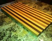 Mulitple Hardwood Cutting Board/Butcher Blocks.  Maple, Oak, Walnut, Cherry, Persimmon Free Shipping