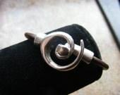 Swirl Clasp Bracelet