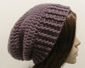 Everyday Slouch Hat - Dusty Purple - made to order