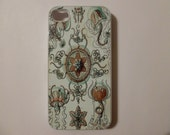 iPhone 4 Case - Vintage Jelly Fish