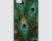 Rubber iPhone 4 Case - Peacock Feathers -  iPhone Case, iPhone 4s Case, Cases for iPhone 4, Hard iPhone 4 Case, iPhone 4 Cover