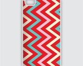 Rubber iPhone 4 Case - Chevron Pattern 5