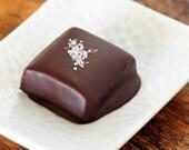 Bittersweet chocolate-dipped vanilla-sea salt caramels, 15 pieces -- BEST IN SHOW winner