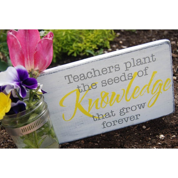 Teachers Plant the Seeds of Knowledge Vinyl Decal